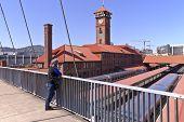picture of portland oregon  - Union Station train station in Portland Oregon - JPG
