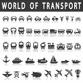picture of ski boat  - Transport icons - JPG