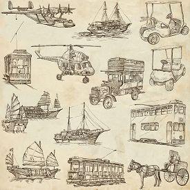image of hand-barrow  - Transport and Vehicles around the World  - JPG