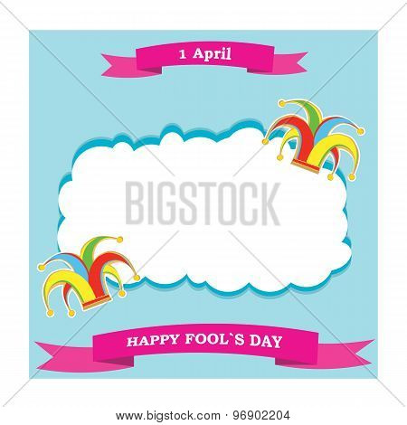 Vector Silhouette Colorful Clowns Hat And Ribbon