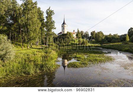 Bip Castle (Castle Marienthal). Pavlovsk. Saint Petersburg. Russia.