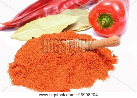Powdered dried red pepper,powder paprika