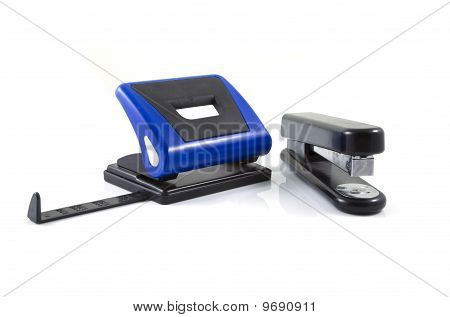 Stapler And Punch
