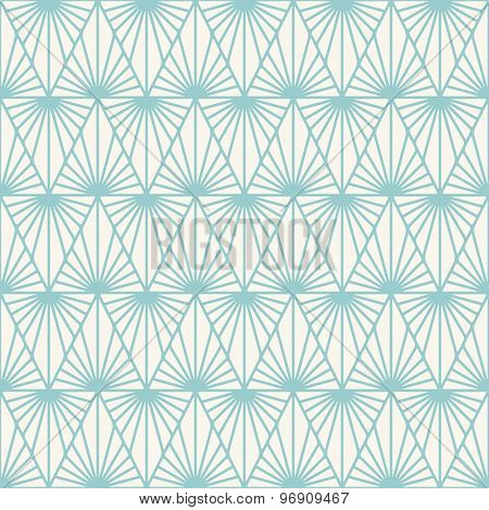 Vector Geometric Seamless Pattern.