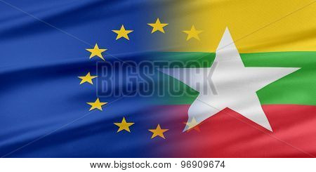 European Union and Burma.