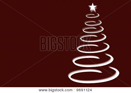 Swirling Christmas Tree