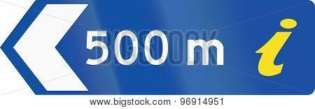 Information Center 500 Meters In Australia
