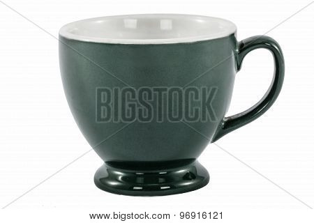 The Cup For Tea, Isolated On White Background