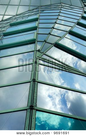 Moder Glass Roof