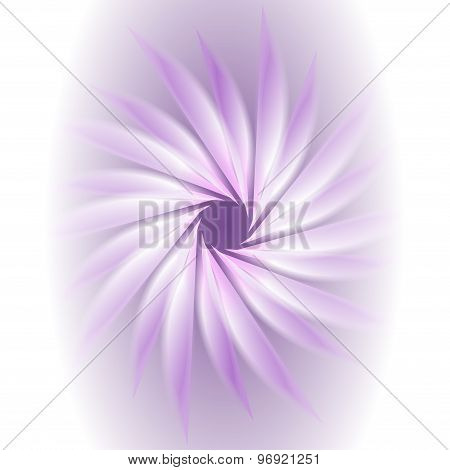 Light purple curled in a circular motion background