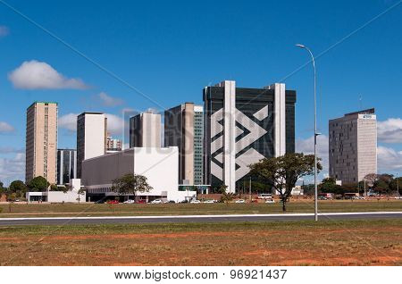 Financial Sector of Brasilia City