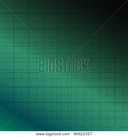 Modern green background abstraction
