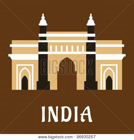 Indian landmark icon Charminar mosque