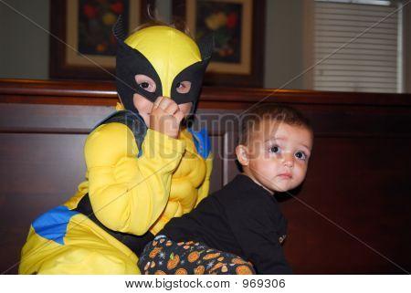Super Hero And Baby