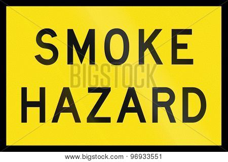 Smoke Hazard In Australia