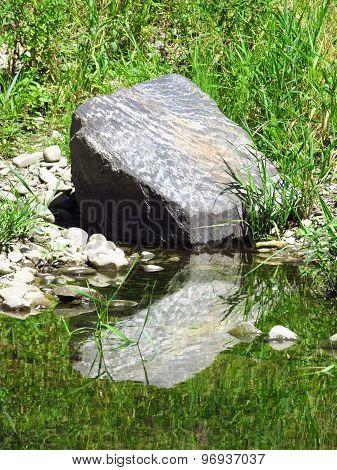 Big gray stone