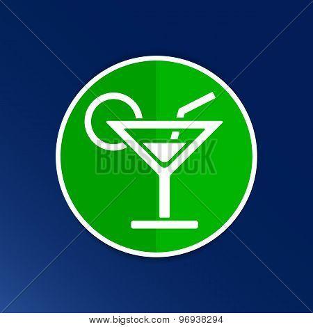 vector pub wine drinks cold liquid logo cocktail