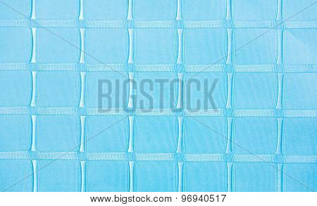 Blue Sofa Linen Fabric Texture For Background