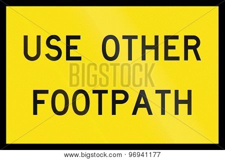 Use Other Footpath In Australia