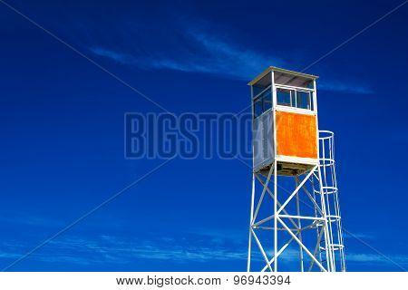 Seaside Coastal Lifeguard Watchtower