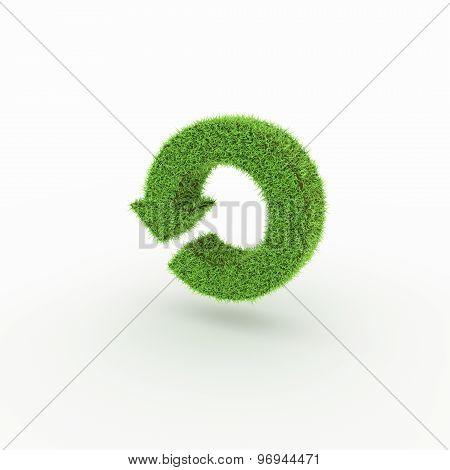 Green Icon - reload, restart