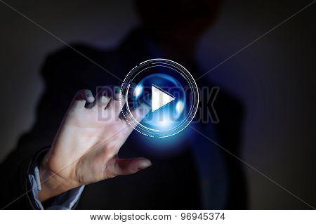 Digital play icon