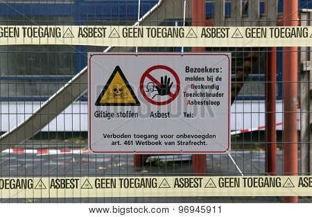 No Access Associated With Pollution By Asbestos