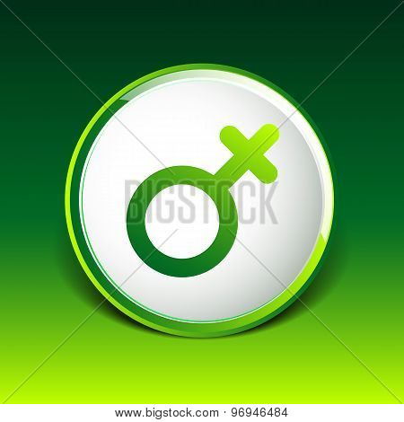 Female sign icon woman gender vector feminine