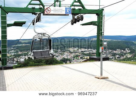 Chairlift in Saarburg