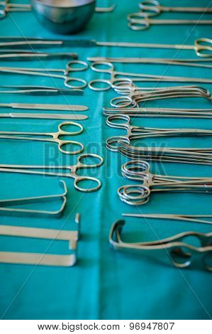 Lot Of Surgical Tools