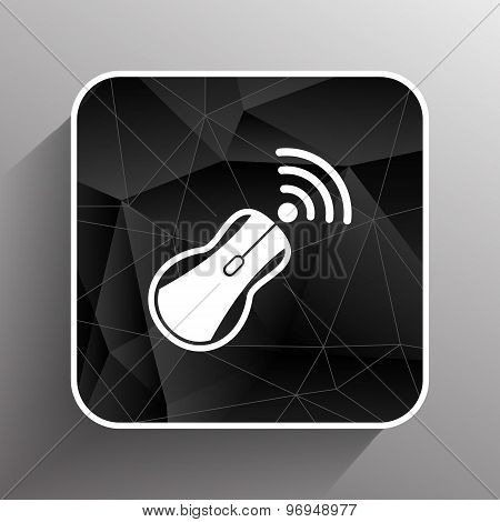 wireless mouse button web icon tool  click
