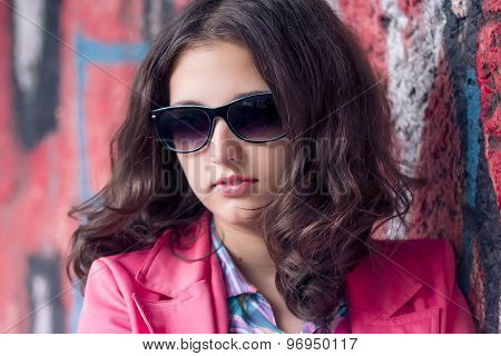 fashion girl outdoor