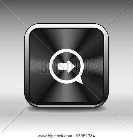 arrow next pointer cursor navigation right icon