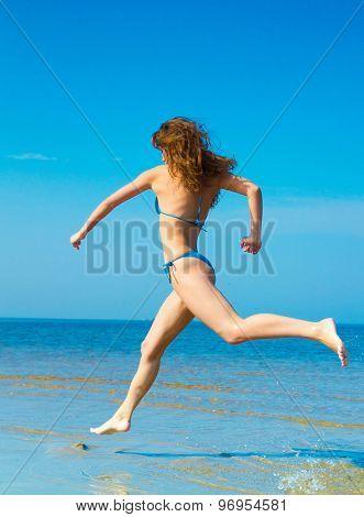 Beautiful Spirit On a Beach