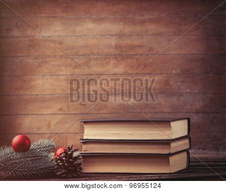 Pine Branch And Books