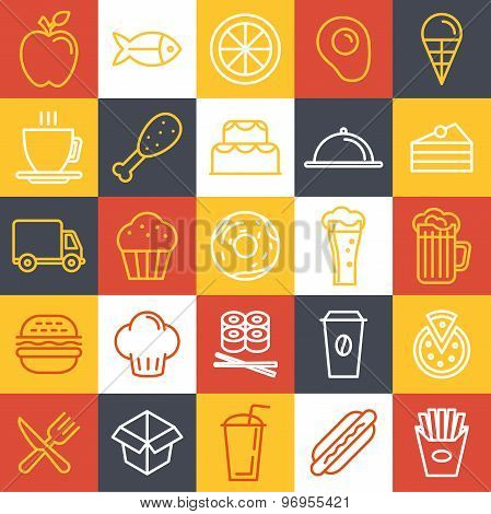 Vector Fast Food Icons