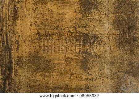 Aged grunge abstract concrete texture with dents and cracked