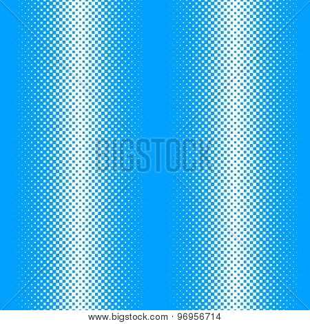Vector Seamless Pattern With Square Halftone