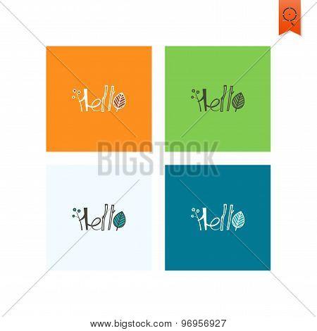 Hello - Stylized Text