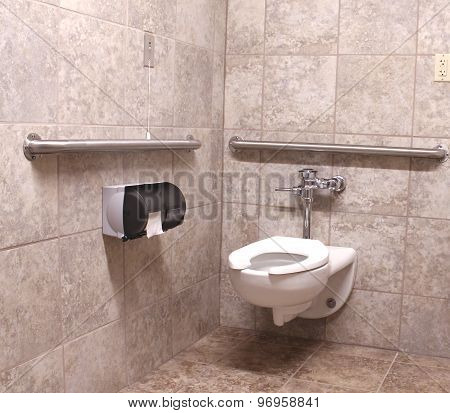 Wheelchair Handicapped Bathroom