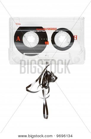 Broken Audio Tape