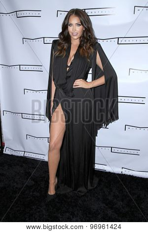 LOS ANGELES - JUL 23:  Olivia Pierson at the Michael Costello And Style PR Capsule Collection Launch Party  at the Private Location on July 23, 2015 in Los Angeles, CA