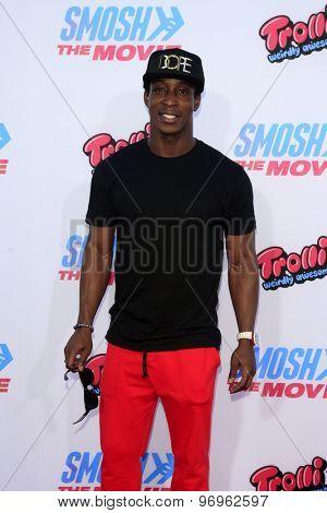 LOS ANGELES - JUL 22:  Shaka Smith at the
