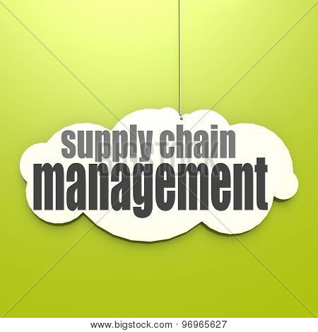 White Cloud With Supply Chain Management