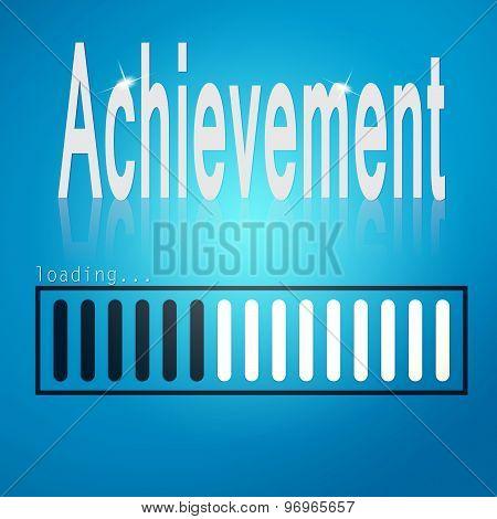 Achievement Blue Loading Bar