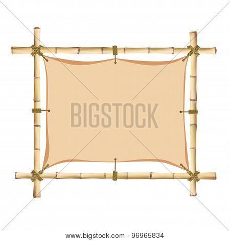 Bamboo Frame.