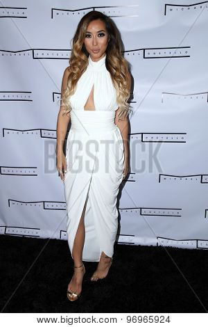 LOS ANGELES - JUL 23:  Arika Sato at the Michael Costello And Style PR Capsule Collection Launch Party  at the Private Location on July 23, 2015 in Los Angeles, CA
