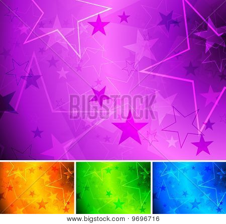 Vibrant Star Backgrounds