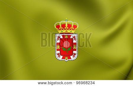 Flag Of Granada Province, Spain.