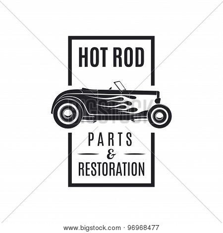 Hot rod icon